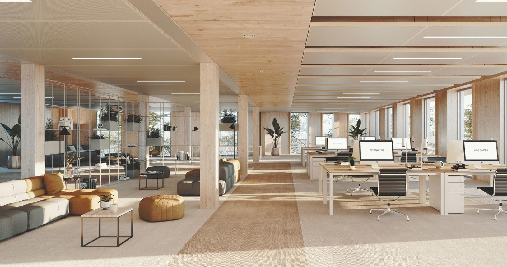 Vue Interieure Bureau
