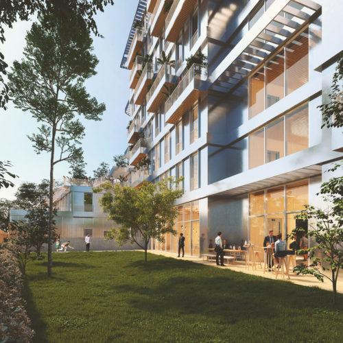 Immeuble,  Woodwork  Jardin - WoodWork