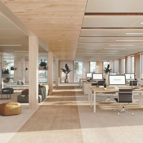 Immeuble,  Woodwork  Vue  Intérieure  Bureau 180117 - Woodwork